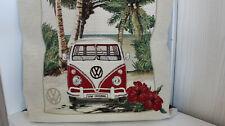 Kissenhülle mit Reißverschluß ca. 47 x 47 cm Bus, Bulli Original