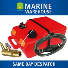 Outboard Fuel Tank 25L Kit Johnson/Evinrude Fuel Line & Adaptor 25 Litre 2900MC