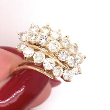 2.00ct Round Brilliant Cut Diamond Right-Hand Ring in 14 Yellow Gold