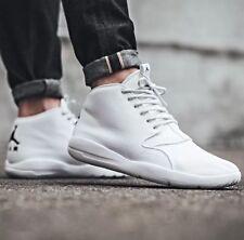 6b5869cc2c8b15 Nike Air Jordan Eclipse Chukka Triple White Black 881453-100 Mens Shoes Sz  8.5