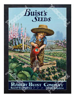 Historic Buist's Seeds 1900s Advertising Postcard