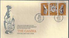 1978 Gambia FDC QEII Coronation 25th Anniv.