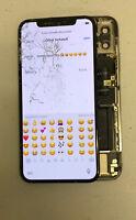 Genuine Original Display LCD Screen Broken Glass For Apple iPhone X READ READ