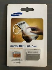 Samsung 64GB Micro SDXC UHS-I Card With Adapter