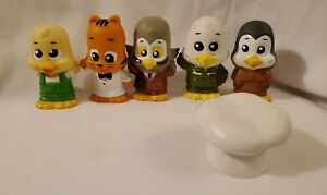 5 Little Tikes Apple Grove Pals Replacement Figures Animals / 1 Hat