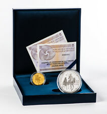 SPAIN collection complete silver and gold 2015 proof IV CENTENARY DEL QUIXOTE