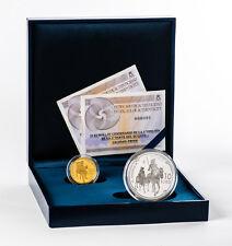 ESPAÑA colección completa plata y oro 2015 proof IV CENTENARIO DEL QUIJOTE