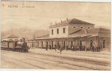 FELTRE - LA STAZIONE CON TRENO (BELLUNO) 1925