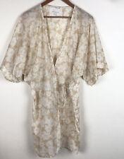 New listing Acacia Swimwear Sz Small S Kaupo Naked Magnolia Nude/White Coverup Dress