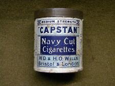 Boite tôle Cigarette CAPSTAN WWII WW2 PX British JEEP airborne ration tin box