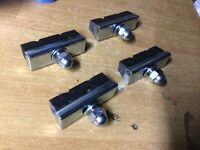 2 pairs Raleigh Grifter Brake Blocks *British Made**FREEPOST UK**