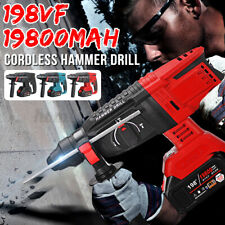 Brushless Heavy Duty Electric Rotary Hammer Drill 1800r/min No-load Speed Tool