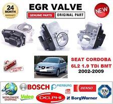 FOR SEAT CORDOBA 6L2 1.9 TDi BMT 2002-2009 Electric EGR VALVE 5PIN OVAL PLUG
