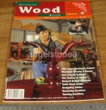 1996.WOOD REVIEW Magazine No.10.Issue TEN.Australian WOODWORK.Furniture.Design.