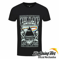 Official Pink Floyd Carnegie Hall Poster Rock Band T-Shirt