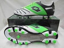 LOTTO scarpe calcio STADIO POTENZA V 200 FG col.BIANCO/VERDE n.40 agosto 2014