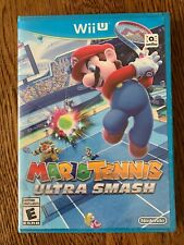 Mario Tennis: Ultra Smash (Nintendo Wii U, 2015) brand new, sealed Free Shipping