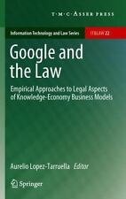 Information Technology and Law: Google and the Law : Empirical Approaches to...
