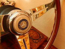 Mercedes 560 SEC 1986 - 91 Wood Steering Wheel Hub Boss Horn Button Assembly New