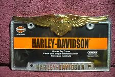 LICENSE PLATE FRAME HARLEY DAVIDSON .AUTO TRUCK PART HOT RAT ROD  ACCESSORY 5