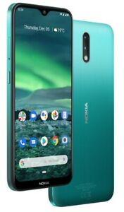 "Nokia 2.3 Green 32GB 2GB 6.2"" 13+2MP Camera Dual Sim Googleplay Unlocked Phone"
