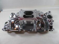E-Force Intake Manifold Chevy SBC 283 327 350 Fits Stock Heads 82025 Polished