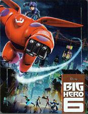 Blu-Ray Steelbook - Disney - Baymax / Big Hero 6 - 2D & 3D - 2 Disc Set