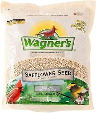 Wagner's 57075 Safflower Seed, Bird Food  Bird Treat  5-Pound Bag