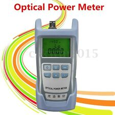 Handheld Optical Power Meter Tool Laser Fiber Optic Tester Visual Fault Locator