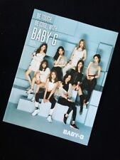 Girls' Generation Official Casio Baby-G Watch Catalog 2017 Rare SNSD
