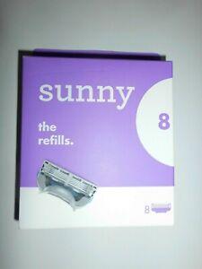 Sunny Women's Razor Blade Refills, 8-Count Pack