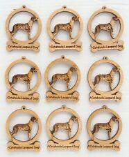Catahoula Leopard Dog Mini Ornaments Box of 9