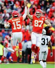 Travis Kelce & Patrick Mahomes Kansas City Chiefs 8x10 Official Authentic Photo
