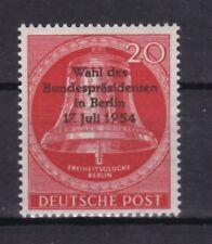 Berlin 1954 postfrisch MiNr.  118  Wahl des Bundespräsidenten