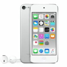🔥Apple iPod Touch 6th Generation 128GB Silver MP3/4 Player -- A8 8MP Warranty🔥