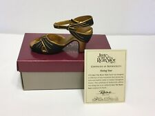 Just The Right Shoe 1999 Rising Star #25043 By Raine with Box and Coa
