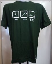 TRY, TRY AND TRY AGAIN RUGBY TEE SHIRT BY COTTON TRADERS SIZE MEDIUM/LARGE NEW