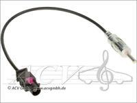 BMW Dacia Renault VW Fakra Antennenadapter -> 150 OHM DIN Radio Antennen Adapter