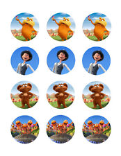 The Lorax edible cake image party cupcake toppers decoration 12/sheet
