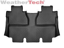 WeatherTech FloorLiner for Toyota Tundra CrewMax - 2014-2017 - 2nd Row - Black