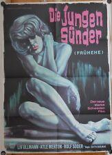 JUNGEN SÜNDER /FRÜHEHE (Plakat '59) - LIV ULLMANN / sexy