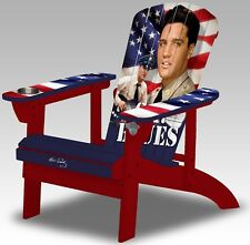 Elvis Presley G.I. Blues Adult Size Natural Wood Adirondack Chair Porch Fire pit