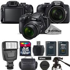 Nikon COOLPIX B700 Digital 20.2MP 4K Video WiFi NFC Camera 60x Zoom - 32GBGB Kit