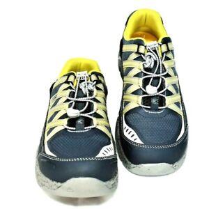 KEEN UTILITY Asheville Mens 9D Shoes Midnight Navy Aluminum Toe Work 1017072 NEW