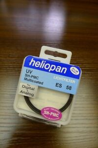 Brand new Heliopan UV SH-PMC Multicoated 58mm Slim filter
