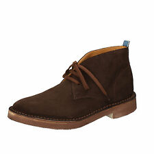 mens shoes MOMA 5 (EU 39) desert boots brown suede AB330-B