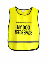 """Yellow Dog UK """"I NEED SPACE"""" Owner Lightweight Tabards"""