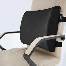 Moustache® Memory Foam Lumbar Support Pillow with Dual Premium Adjustable Straps