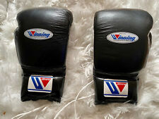 Winning Boxing Gloves 16oz 16 oz Black Lace Up MS 600 MS-600