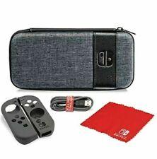 Nintendo Switch Starter Kit Switch Elite Edition PDP Gray Case BRAND NEW